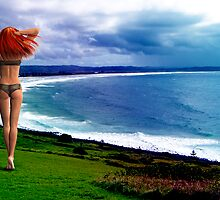 Fantasy at Lennox Head by LividPhoto