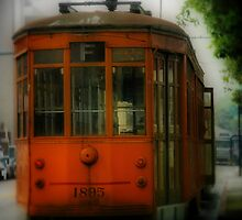 Street Car by Barbara  Brown