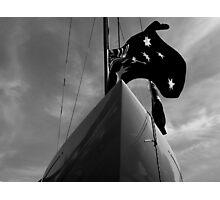 Dragon Keelboat Photographic Print