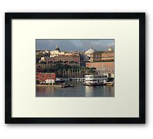 Sunrise in Naples, Italy Framed Print