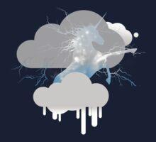 The Unicorn Thunderbeing - Sky Blue by Kaia Ra