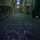 If these streets could talk (1) J+Dxxx by Robert Knapman