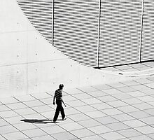Man and Architecture by Ulf Buschmann