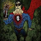 "Super Zombie ""HOT, HOT, HOT!!"" - Aged Retro Version by Michael Lee"