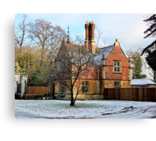 Duke of Westminster Lodge, Chester Canvas Print