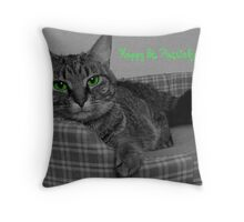 Happy St. Patrick's Day From Gracie Throw Pillow