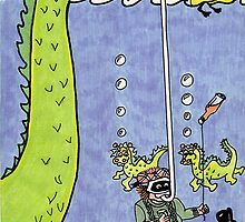 Looking for Nessie by sharpie