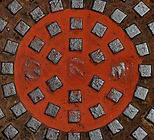 Manhole mandala by Erika Gouws