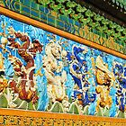 Nine Dragon Wall (Chicago) by William Dyckman