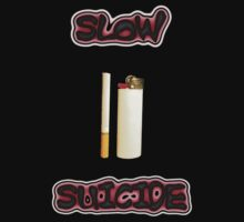 Slow Suicide - Smoking - Cigarette and Lighter by Craig Stronner