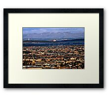 Western Edinburgh Framed Print