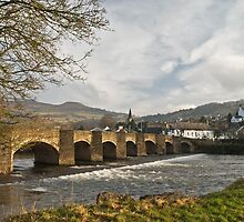 The River Usk, Crickhowell by Steve  Liptrot