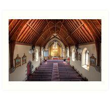All Saints Church • Portland • Victoria  Art Print
