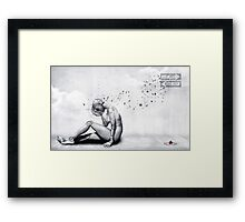 The Comfort She Craves Framed Print