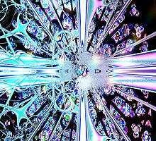 Crystal Cathedral Fractal by judygal