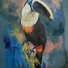 Rainforest Toucan by Michael Creese