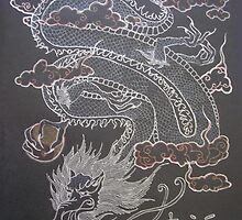 Japanese Dragon by blackiris26