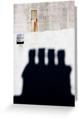 Chimneys by Mark  Coward