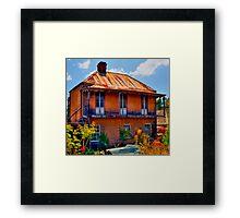 Ghost House - Sofala - NSW - Australia Framed Print