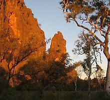 Sunset at Windjana Gorge by Tim Coleman