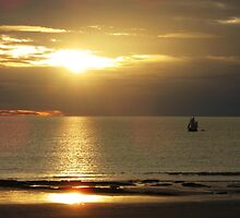Sunset over Cable Beach by Tim Coleman
