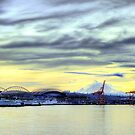 Seattle, WA Waterfront ~ Working Docks ~ HDR Series by lanebrain photography