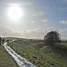 Walking the Avebury Ditch by Jason Clarke