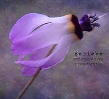Believe and act as if it was impossible to fail by Myillusions