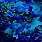 blue memory by Joseph Valcourt/Modernus Art Studio