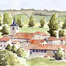 View of Ecuras by ian osborne