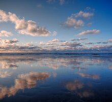 Light Blue Mirror Beach by Richard Horsfield