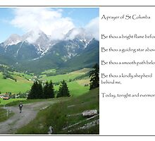 Austrian Alps -A prayer card by annawood