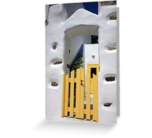 Bright Sunshiny Welcome Greeting Card