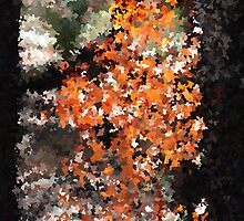 Impressionistic dead bush by purpleneil59