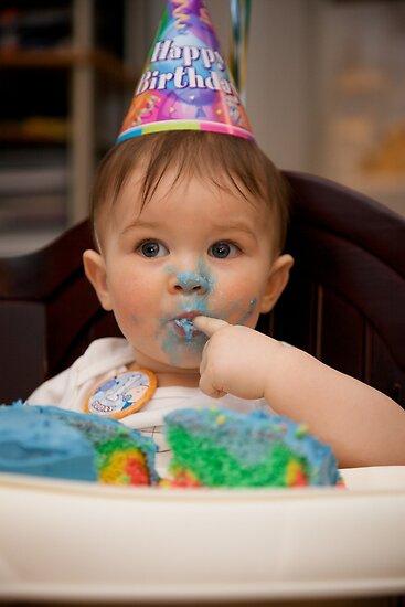 1st Birthday Cake by CJ B