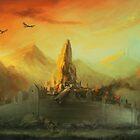 Ruins of Gondolin by Grrrod
