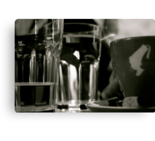 couleur cafe Canvas Print