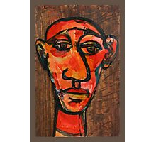 Head of an artist-expressive Photographic Print