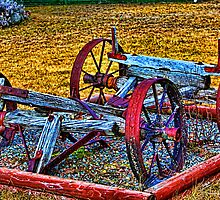 """""""All That Remains- Wagon Chassis"""" by Bruce Jones"""