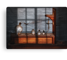 Chemist - The Science experiment Canvas Print