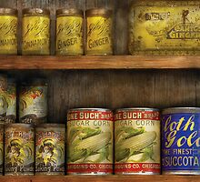 Baker - Old Cans by Mike  Savad
