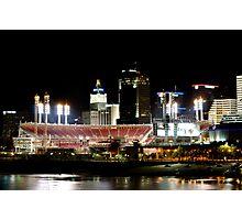 Cincinnati ballpark Photographic Print