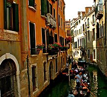 On the Streets of Venice by Seana