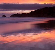 Split Point Sunset by Neil