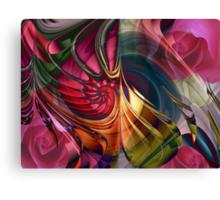 I wish you a rose garden Canvas Print