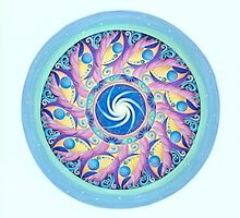 FRIENDLY SPACE - Stargate Mandala by LAURION