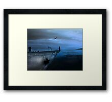 ice-cold longing Framed Print