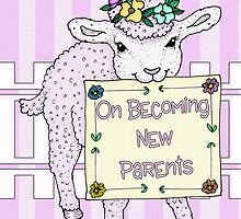 Congratulations On Becoming New Parents Card by Moonlake