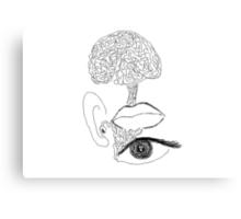 tenth sense - generativity (stream of consciousness) Canvas Print