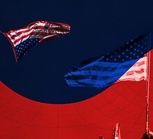 American Flag by marcopuch